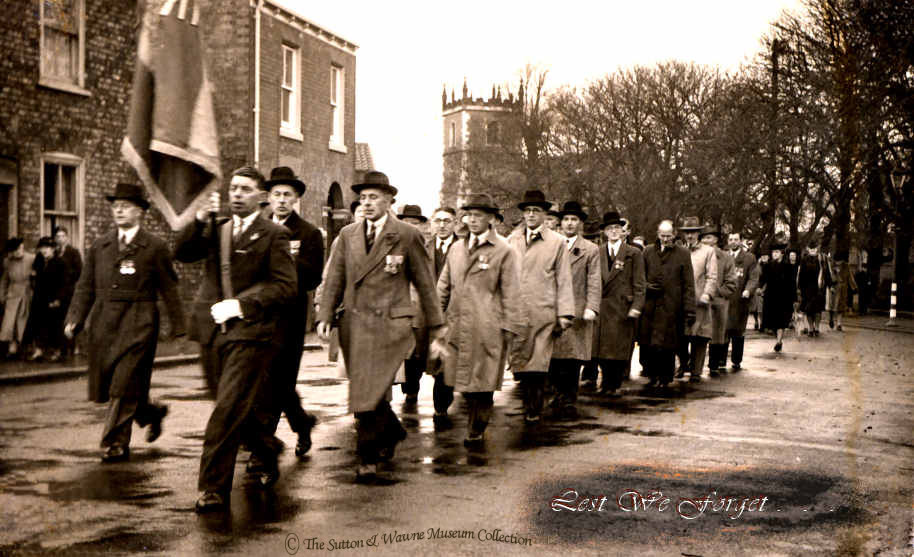 Remembrance Parade, 1950s-60s