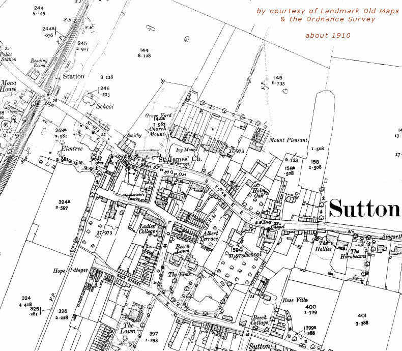 Sample Site Map: SUTTON & WAWNE MUSEUM -new Website- And FAMILY HISTORY RESOURCES CENTRE