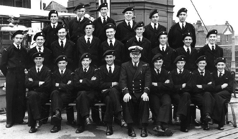 Who ARE these naval cadets, or scouts ?